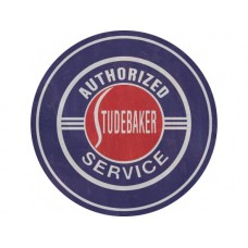 Studebaker Service Round tin metal sign