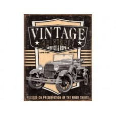 Vintage Originals-Pickup tin metal sign