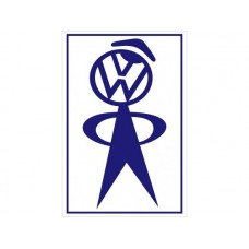 Volkswagon VW Service Man tin metal sign