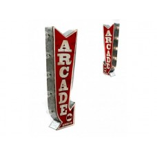 Marquee Sign Arcade Off the Wall tin metal sign