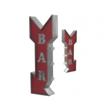 Marquee Sign Bar tin metal sign