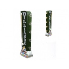 Marquee Sign Billiards Off the Wall tin metal sign