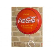Plastic wall mount Coca Cola