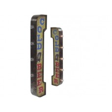 Marquee Sign Cold Beer tin metal sign